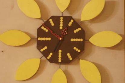 Päevalille kell (Kollane)